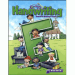 E cursive workbook
