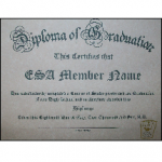 ESA High School Diploma